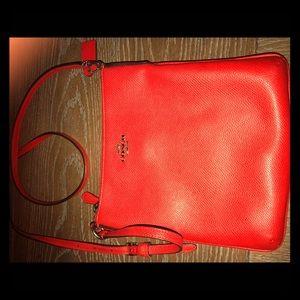 Coach leather crossbody